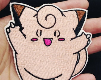 Pokemon patch - Clefairy embroidered patch