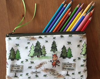 Jersey Devil in the Pine Barrens Pencil and Accessories Zipper Pouch