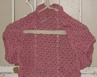 Kiss Me Shrug Cardigan Sweater Seamless Pattern XS-2X Plus Size Womens or Teens