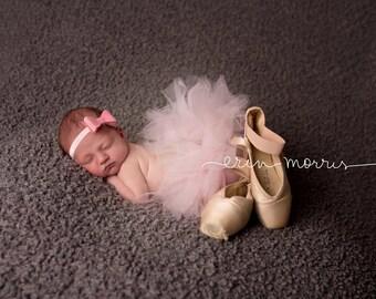 Newborn photo prop, baby tutu, baby photo prop,  newborn tutu set, tutu set, newborn tutu,  pink newborn tutu, tutu set, photography prop,