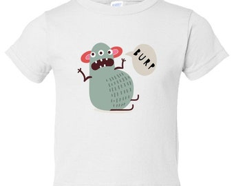 Little Monsters Number 7 Toddler Tee