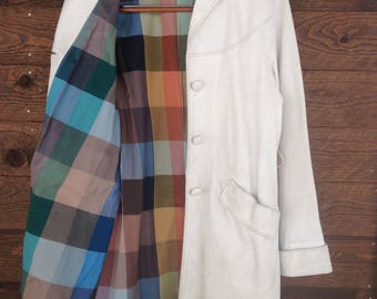 Field and Stream Vintage Leather Jacket Ladies  Size 12 Mid-Century Rare & Beautiful