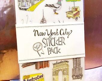 New York City Stickers - New York City - Vinyl Stickers