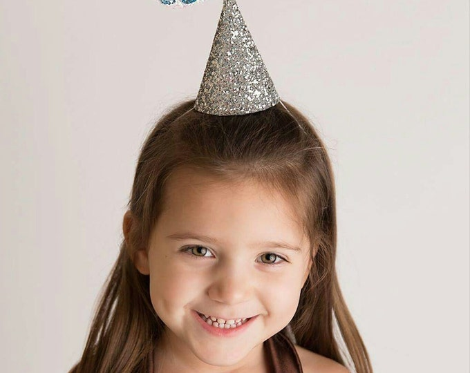 Glittery Kisses Halloween Party Hat