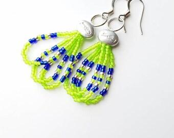 Seahawks Dangle Earrings