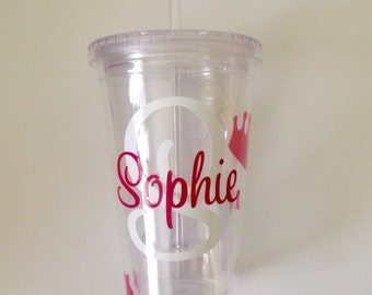 DIY Personalized Baby and Toddler Water Bottle or Tumbler Decals