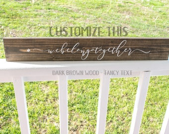 Wood Wedding Hashtag Sign, Personalized Hashtag Sign, Custom Hashtag Sign, Reclaimed Wood Hashtag Sign, Wood Wedding Decor, Custom Wood Sign