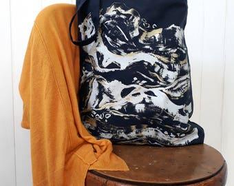 Tote Bag - Beach bag / Screen print / Cotton bag / bag for life