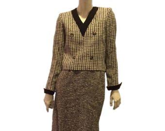 Gorgeous Vintage Valentino Suit