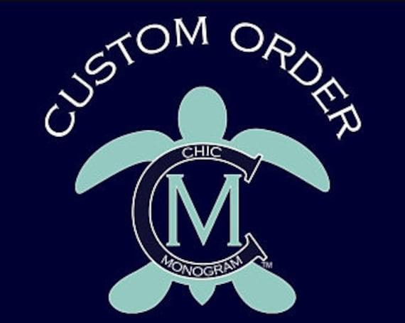Custom Order for Lauren