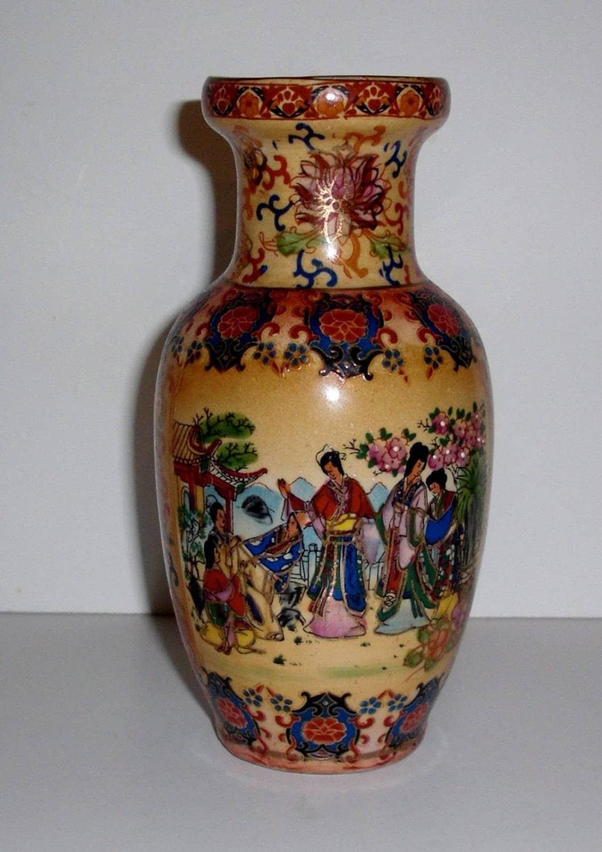 Vintage 6 chinese porcelain vase marked jing an china description this vintage porcelain vase from china reviewsmspy