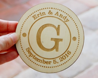 Wedding Favors Personalized Coaster Wedding Favors Rustic, Custom Wedding Favor, Personalized Favor Wedding Guest Gift, Bridal Shower Favor