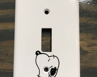Snoopy Light Switch Cover