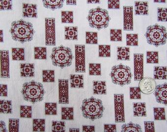 4 yards vintage cotton men's pajama fabric