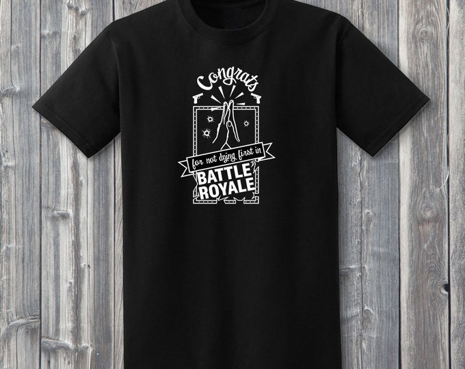 Congrats Battle Royale Shirt