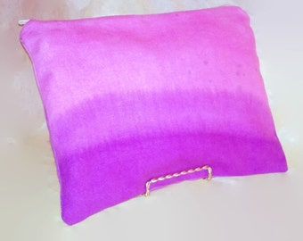Ombre Hand Dyed Clutch