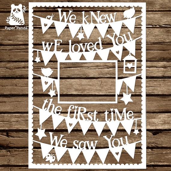 Paper panda papercut diy design template we knew we maxwellsz