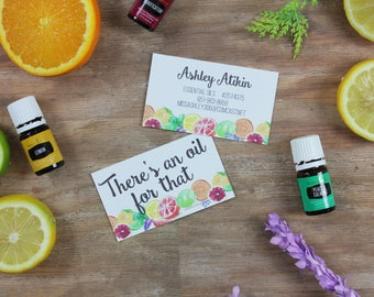 Young Living Independent Distributor Business Card
