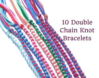 embroidery loop braiding floss square braids bracelet video fell v together cobbled start tutorial flat here fingerloop