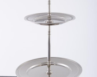 Alice in Wonderland Cake Stand-two Tier