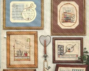 Hobbies, Hobbies, Hobbies - Cross Stitch Patterns - 1988