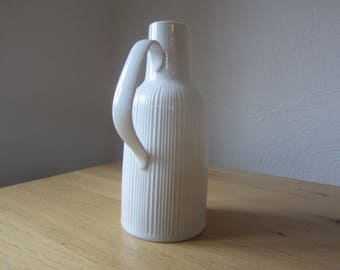Hutschenreuther's artistic Department modern 60s relief design jug / pitcher