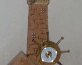 Lighthouse Mantle Clock