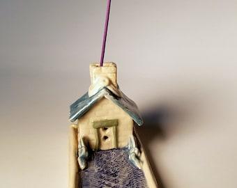 Little Cottage Incense Burner