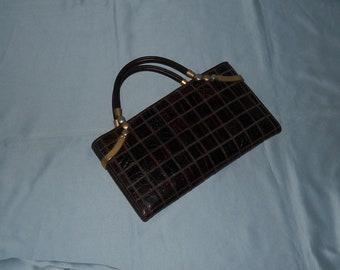 Authentic vintage handbag! Genuine leather!