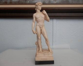 Vintage Statue of David