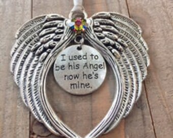 Dad Memorial Angel, Memorial Ornaments, I used to be, Angel Ornaments,Loss of Father,Death of Father,Loss of Dad , Angel Dad, Guardian Angel