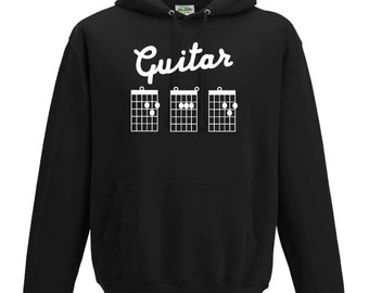 Guitar Dad Hoodie. Guitar Tabs Hoodie. Dad Gift. Father's Day Gift. Guitar Chord Dad Gift.