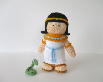 Cleopatra doll knitting patterns