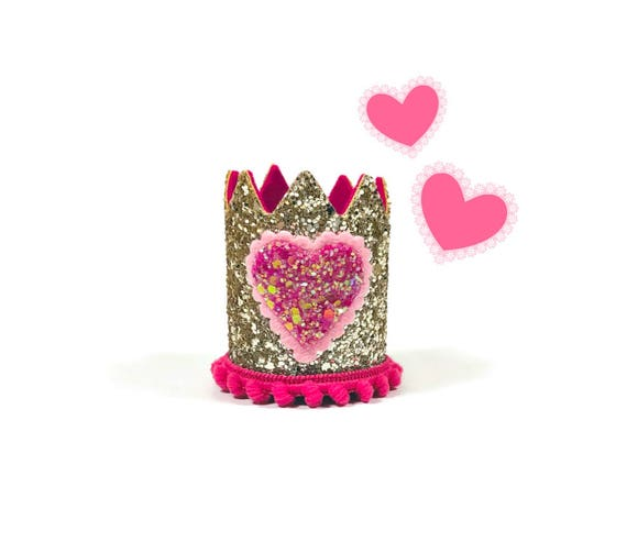 Valentine Crown || Dog Hat || Birthday Crown || Animal Crown || Animal Party || Birthday Party Photo Prop