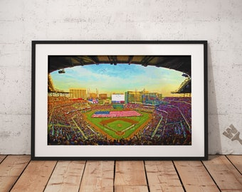 Atlanta Braves SunTrust Park Baseball Stadium Print