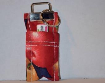 Chapstick Holder, Chapstick Keychain Apples