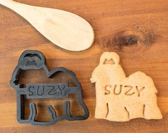 Shih Tzu Cookie Cutter Custom Treat Personalized Pet