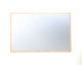 Magnet Board - Large 13 x 20 Magnetic Memo Board - Magnetic Chore Chart - With Optional Magnets