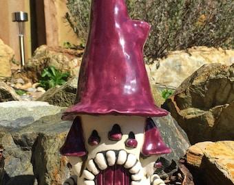 Fantasy Castle Incense Burner - Purple