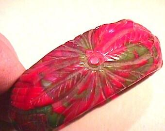1J Carved Bakelite Bracelet