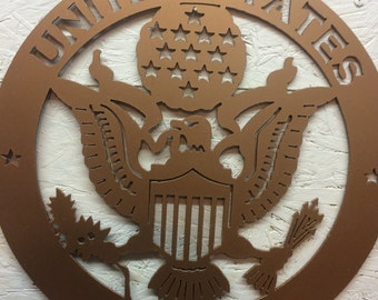 United States Army Metal art