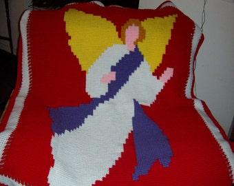 Crochet Angel Afghan