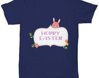 Hoppy Easter Bunny Rabbit Tshirt