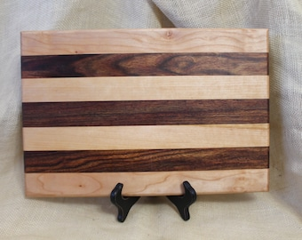 Machiche and Maple Hardwood Cutting Board or Carving Board