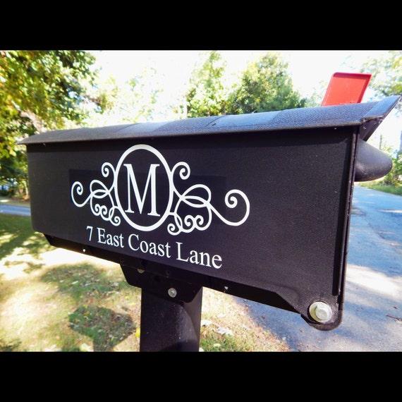 Custom Mailbox Vinyl - Custom Mailbox Decals - Custom Decals for Mailbox -  Custom Vinyl Mailbox Lettering - Mailbox Stickers from EastCoastVinylDecals  on ...
