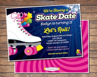 roller skating party flyer template ecza productoseb co