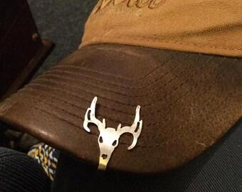 Deer Head Hat Pin 2