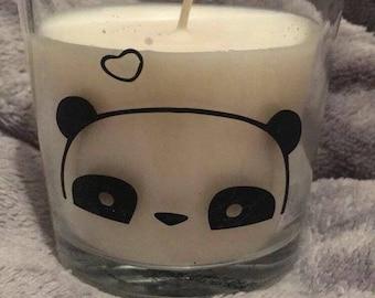 PANDA custom candle