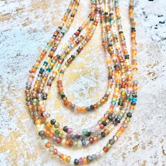 "Mixed Gemstones ""Everyday Necklace"""