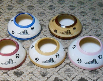 ADVANCE ORDER: Cavalier Spaniel Ear Bowl - WATER  (Small/Medium)